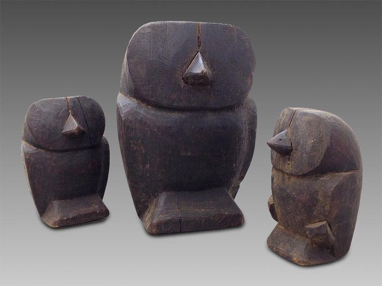 Papermache molds from Burma