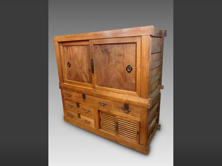 Antique Japanese Futon tansu - Please visit the gallery to see our entire collection of antique Japanese furniture
