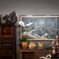 Our extensive collection of Japanese Antiques at our Solana Beach San Diego showroom