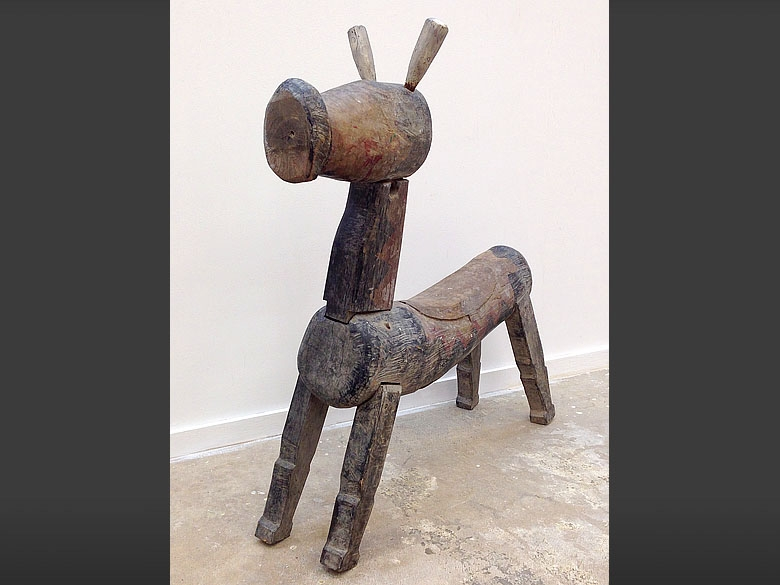 Primitive Folk Art piece - Javanese Java folk art horse