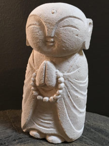 Japanese Jizo Statues in The David Alan Gallery