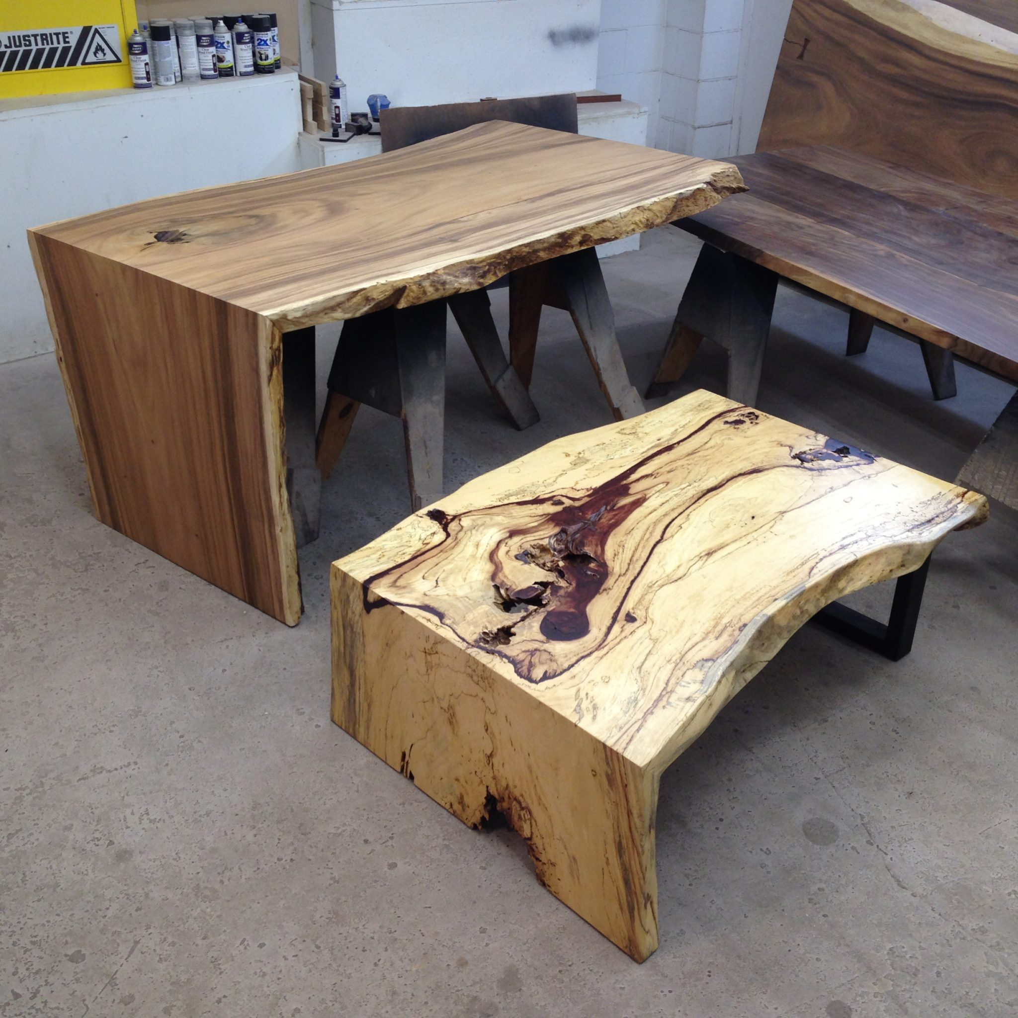 Custom Slab Tables & Live Edge Coffee Tables In San Diego