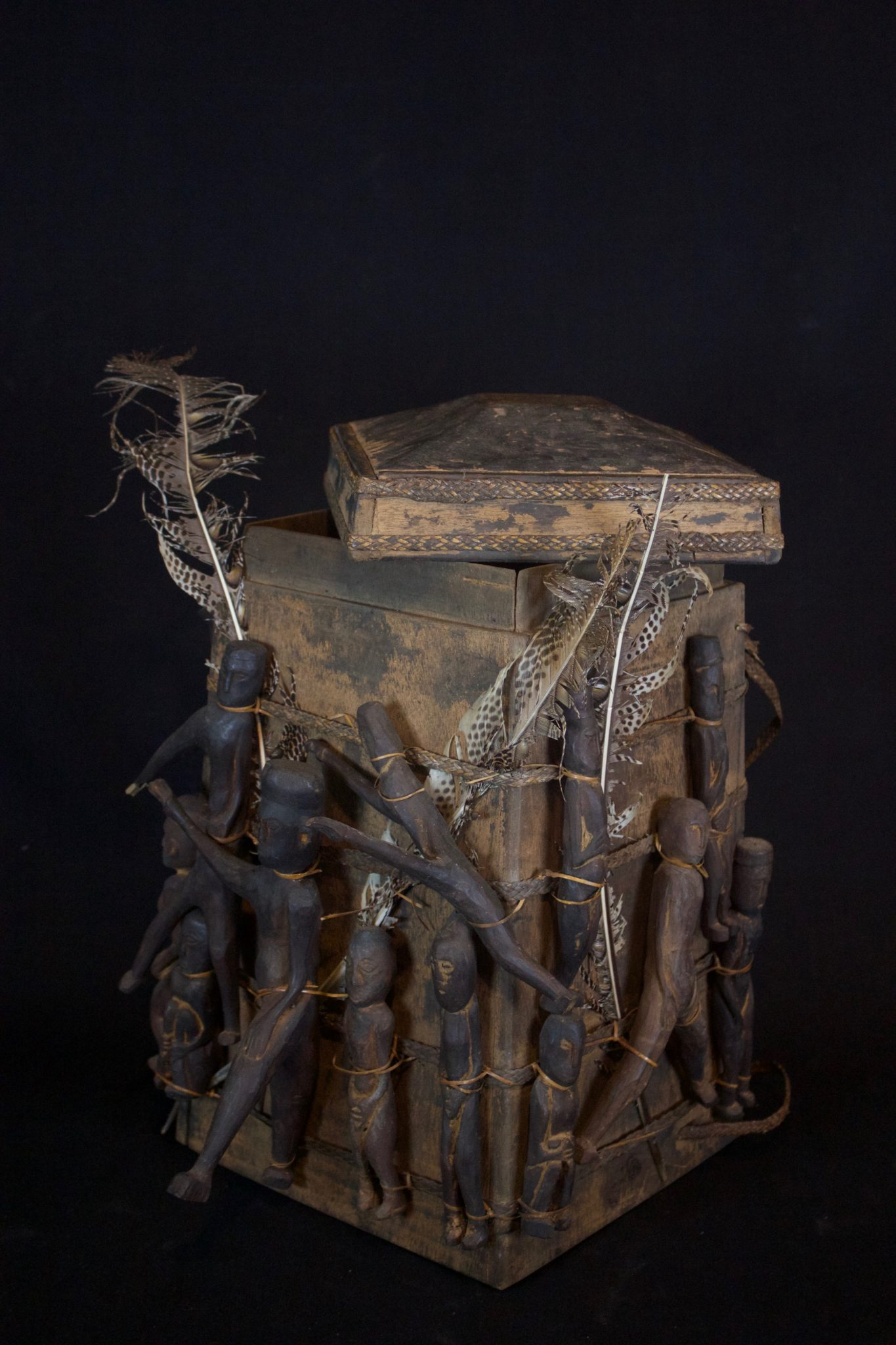 Lupong Manang' or Shaman's Medicine Carrier/Backpack with Healing
